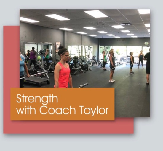 strength with taylor